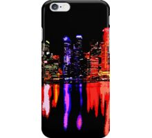 Colorful night iPhone Case/Skin