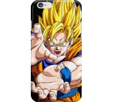 Dragon Ball Z - Goku had enough!  iPhone Case/Skin
