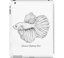 Siamese Fighting Fish iPad Case/Skin