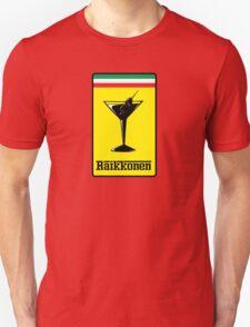 Raikkonen Martini Unisex T-Shirt