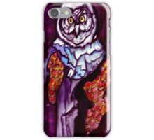 Owl Wizard/ Original work by Amit Grubstein iPhone Case/Skin