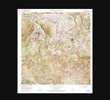USGS TOPO Map Puerto Rico PR Ciales 362088 1957 20000 Unisex T-Shirt
