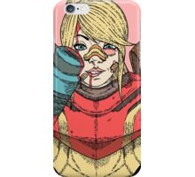Fight Like A Girl - Samus Aran (Metroit) iPhone Case/Skin