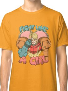 Fight Like A Girl - Samus Aran (Metroit) Classic T-Shirt