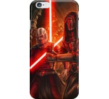 Darth Revan And Darth Malak iPhone Case/Skin