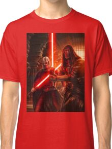 Darth Revan And Darth Malak Classic T-Shirt