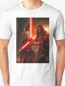 Darth Revan And Darth Malak Unisex T-Shirt