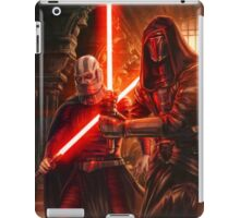 Darth Revan And Darth Malak iPad Case/Skin