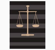 Scales of justice Baby Tee