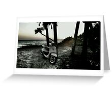 .Beach Cruiser Greeting Card