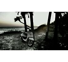 .Beach Cruiser Photographic Print