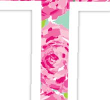 Lilly Pulitzer Roses Anchor Sticker