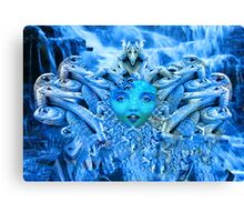 Medusa Metamorphosis Canvas Print