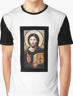 Jesus Christ Pantocrator  Graphic T-Shirt