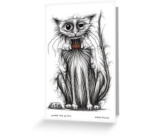 Kipper the kitty Greeting Card
