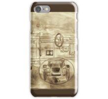 Hydro-mechanic Brakes iPhone Case/Skin