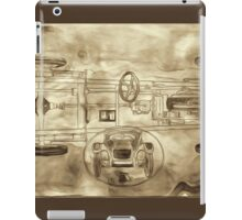 Hydro-mechanic Brakes iPad Case/Skin