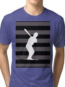 Baseball Batter Tri-blend T-Shirt