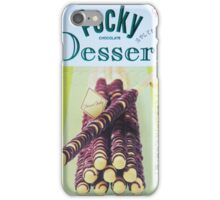 Banana Dessert Pocky iPhone Case/Skin