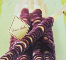 Banana Dessert Pocky Sticker