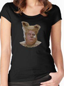 Barf - Spaceballs fan art Women's Fitted Scoop T-Shirt