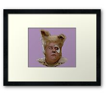 Barf - Spaceballs fan art Framed Print