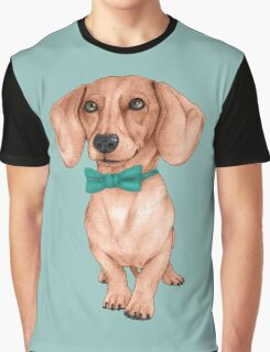Dachshund, The Wiener Dog Graphic T-Shirt