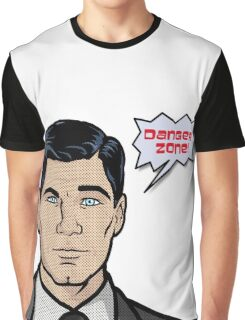Archer Comic Graphic T-Shirt