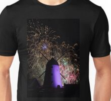 Lytham Windmill Fireworks 2 Unisex T-Shirt