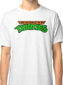 Teenage Mutant Ninja Thirties HARDCORE  Classic T-Shirt
