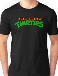 Teenage Mutant Ninja Thirties HARDCORE  Unisex T-Shirt