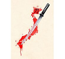 katana sword Photographic Print