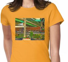 Trains and Bridges Womens Fitted T-Shirt