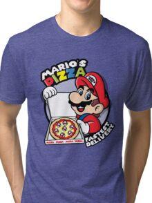 Mario's pizza Tri-blend T-Shirt