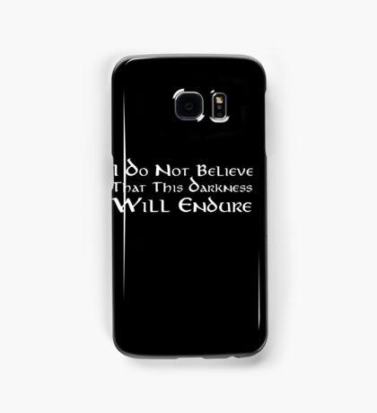 Darkness (White) Samsung Galaxy Case/Skin