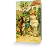 Easter Card Vintage  Greeting Card