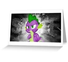 Spike - My Little Pony Greeting Card