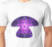 Square Tiles of Mount Olympus | Mushroom Unisex T-Shirt