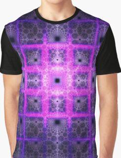 Square Tiles of Mount Olympus | Mushroom Graphic T-Shirt