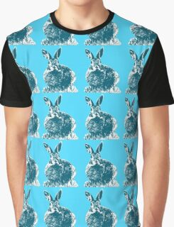 Blue Bunnies Graphic T-Shirt