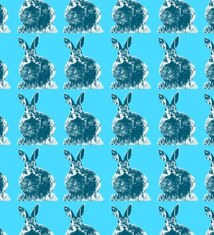 Blue Bunnies Sticker