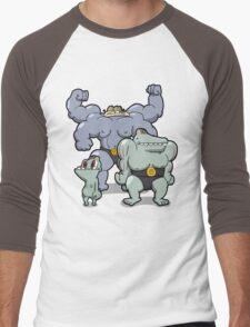 Number 66, 67 and 68 Men's Baseball ¾ T-Shirt