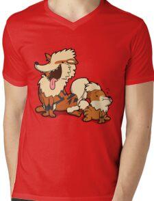 Number 58 and 59 Mens V-Neck T-Shirt