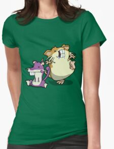 Number 19 and 20 Womens Fitted T-Shirt