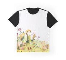 Meeting In The Garden Graphic T-Shirt