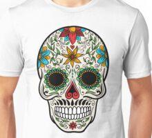 Skull floral 4 Unisex T-Shirt