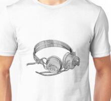 Headphones - Vintage Unisex T-Shirt
