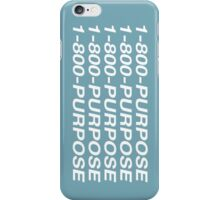 PURPOSE BLING iPhone Case/Skin