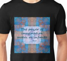 Imagination John Muir Quote Unisex T-Shirt