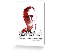 Jeremy Corbyn, 26 July 2015 Greeting Card